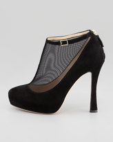 Kate Spade Neveah Mesh T-Strap Bootie