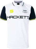 Hackett logo print polo shirt - men - Cotton/Spandex/Elastane - S