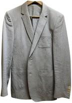De Fursac Blue Cotton Jackets