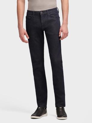 DKNY Men's The Varick Skinny Jean - Slub Indigo - Indigo - Size 29x30