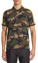 Valentino Regular-Fit Camouflage Polo