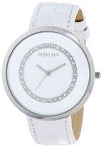 Johan Eric Women's JE5002-04-001 Vejle Analog Display Quartz White Watch