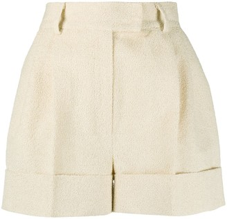 Loulou Textured Mini Shorts