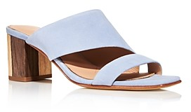 Charles David Women's Chello Slip On Mid-Heel Sandals