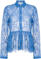 MSGM lace blouse - women - Cotton/Polyamide/Polyester/Viscose - 42