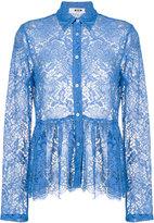 MSGM lace blouse