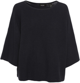Oxford Cari Cotton Tunic Knit Nvy X