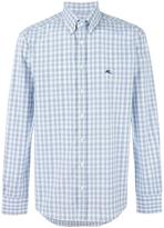 Etro button-down checked shirt - men - Cotton - 39