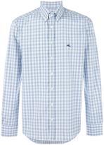 Etro button-down checked shirt