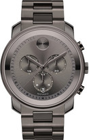 Movado 3600277 Bold grey ion-plated stainless steel watch