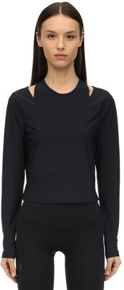 Under Armour Misty L/s Stretch Nylon Top