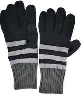 Muk Luks Colorblock Stripe Gloves