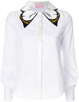 Giamba butterfly collar shirt