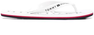 Tommy Hilfiger Nautical Print flip flops