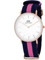 Daniel Wellington Classic Winchester 0505DW Women's Stainless Steel Analog Watch