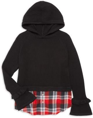 Design History Girl's Combo Hooded Tunic