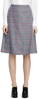 Brooks Brothers Wool Pleat Skirt