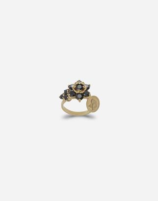 Dolce & Gabbana Ring With Black Sapphires