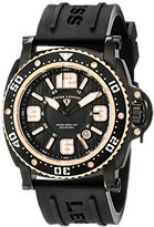 Swiss Legend Men's 11503-BB-01-RA Typhoon Analog Display Swiss Quartz Black Watch