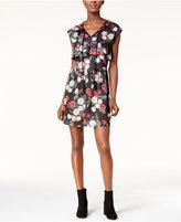 Kensie Ruffled Peasant Dress