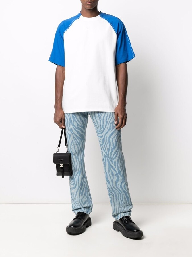 Thumbnail for your product : Ader Error contrast-sleeves T-shirt