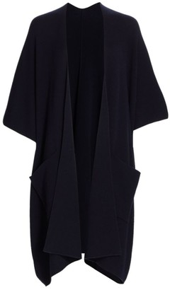 St. John Cashmere Travel Knit Shawl Cardigan
