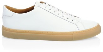 Saks Fifth Avenue COLLECTION Classic Gum Sole Leather Sneakers