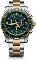 Victorinox Swiss Army Maverick Chrono Two-Tone Stainless Steel Watch