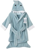 Baby Aspen Hooded Shark Robe - Let the Fin Begin - Blue - 12-18 Months