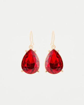 Le Château Gem Tear Drop Earrings