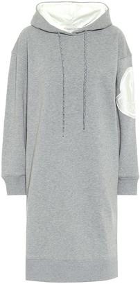 Moncler Cotton-blend jersey sweater dress