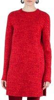 Akris Punto Melange Knit Tunic Dress