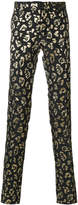 Christian Pellizzari animal pattern trousers