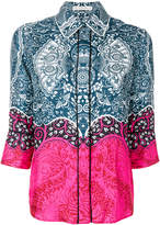 Mary Katrantzou printed straight fit shirt