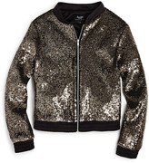Bardot Junior Girls' Sequined Bomber Jacket - Sizes 4-7