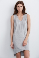 Vanity Modal Knit Draped Tank Dress