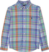 Ralph Lauren Check cotton shirt 2-7 years