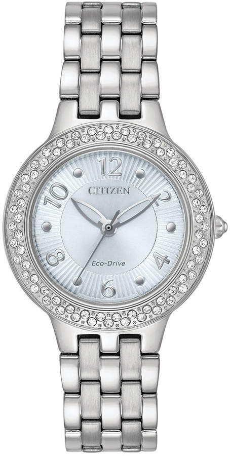 Citizen Eco-Drive Women's Stainless Steel Bracelet Watch 31mm