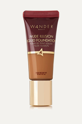 Wander Beauty Nude Illusion Liquid Foundation - Rich