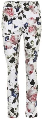 Erdem Sidney floral stretch-cotton pants