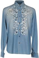 Ermanno Scervino Denim shirts - Item 42610954