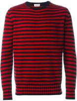 Moncler striped knitted sweater