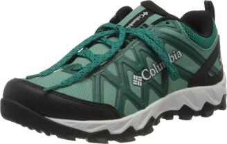 Columbia Women's Peakfreak X2 Outdry Shoe Green (Copper Ore Glacier Green 344) 4 UK