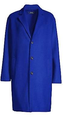 Polo Ralph Lauren Women's Wool Blend Top Coat