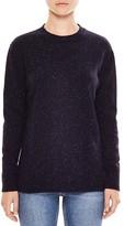 Sandro Frida Speckled Crewneck Sweater