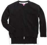 Aqua Girls' High/Low Cashmere Sweater, Big Kid - 100% Exclusive