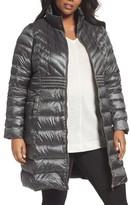 Bernardo Plus Size Women's Down & Primaloft Coat