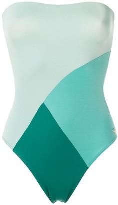 BRIGITTE Jhen color block swimsuit