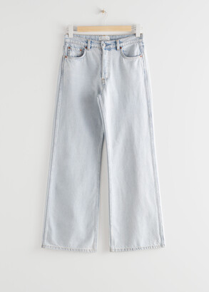 And other stories Straight Mid Waist Jeans