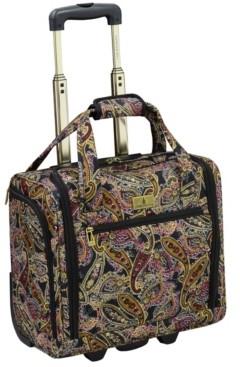 "London Fog Cranford 15"" Under-Seater Bag Luggage"